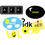 Acronyms Sticker Pack app review