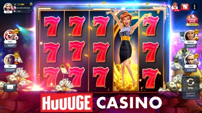 Slot Machines - Huuuge Casino app