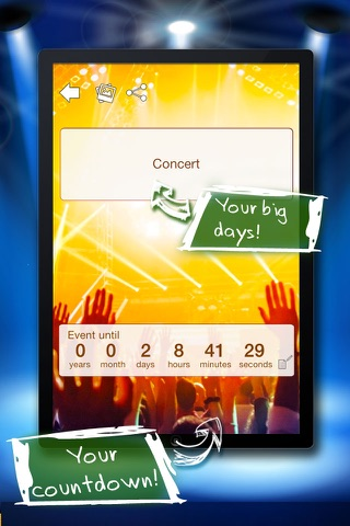 Big Days Countdown screenshot 2
