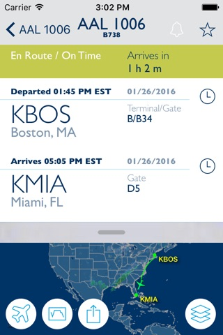 FlightAware Flight Tracker screenshot 3