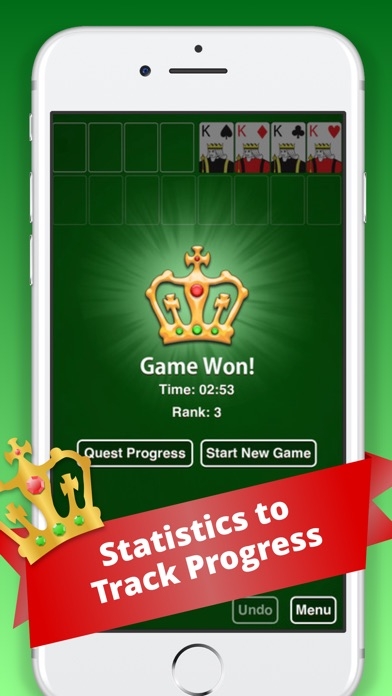 Screenshot von FreeCell Classic :)2