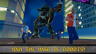 Future Robot Transform Train screenshot 1
