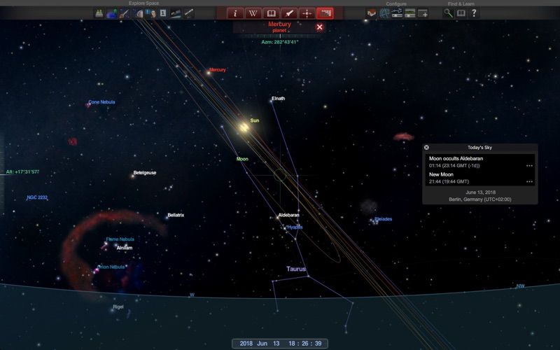 Redshift Premium - Astronomy Screenshots