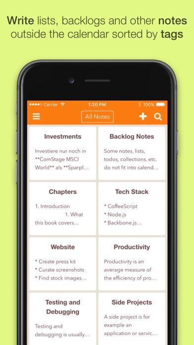NotePlan: Markdown Todo-List, Notes and Calendar Screenshot 4