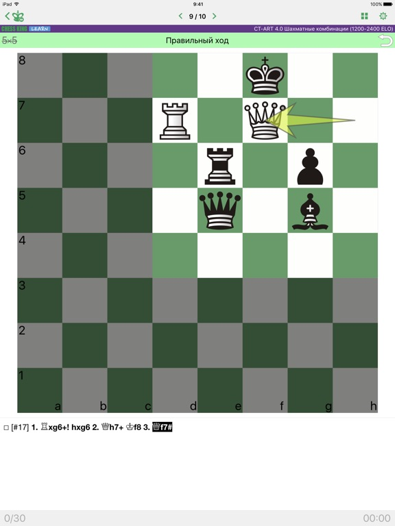 CT-ART 4 Шахматные комбинации для iPad