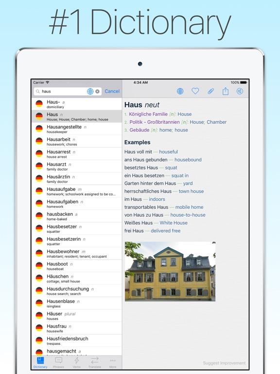 Screenshot #1 for German Dictionary & Translator