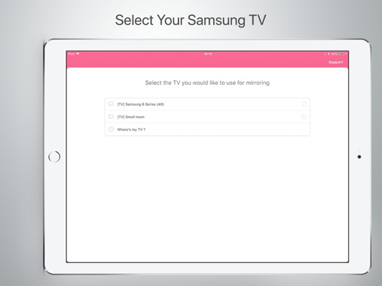 App shopper mirror for samsung tv photography for Mirror for samsung tv