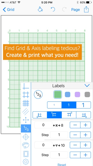 Gridmaker Graph Paper On The App Store