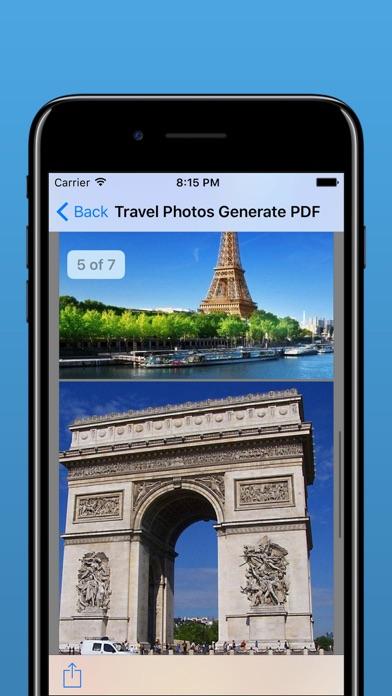 Photos to PDF - JPG to PDF file converter Screenshot on iOS