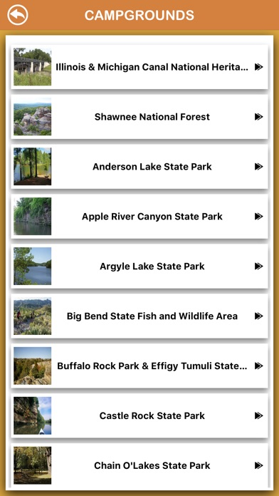 Screenshot for Illinois National Parks in Chile App Store