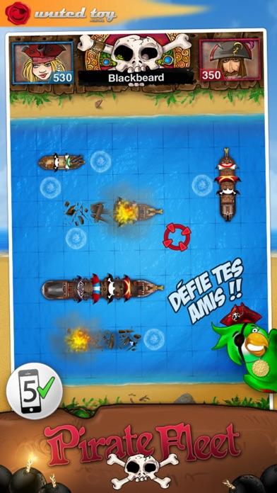 Bataille navale ~ PirateFleetCapture d'écran de 1