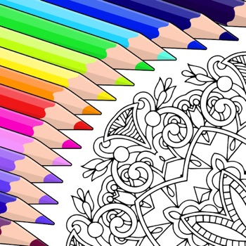 Colorfy: Coloring Book for Adu... app for iphone
