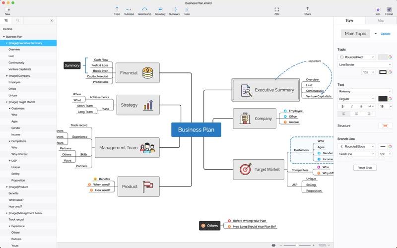 XMind: ZEN - 思维导图,专注头脑风暴的脑图工具 for Mac