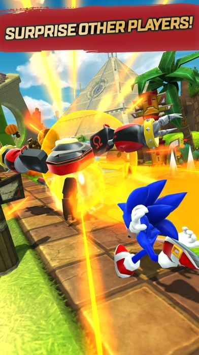 Image of Sonic Forces: Speed Battle for iPhone