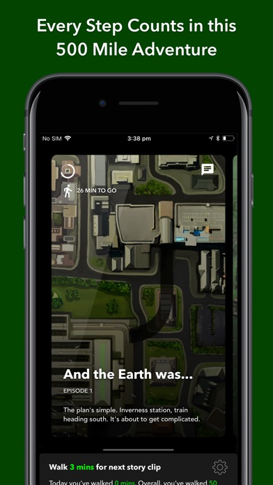 The Walk: Fitness Tracker Game Screenshot