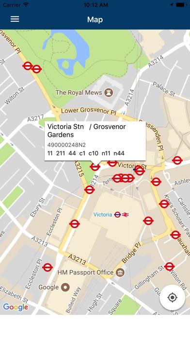 London Transport Live Times screenshot 2