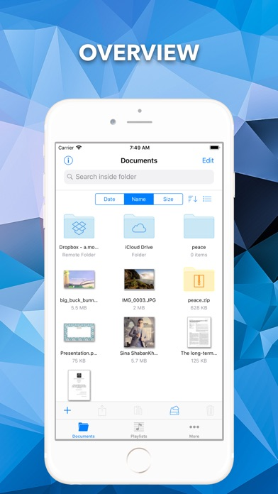 File Manager by Mousavian Screenshots