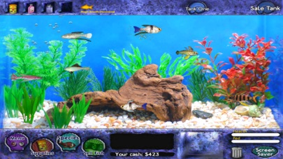 App shopper fish tycoon lite games for Pet fish games