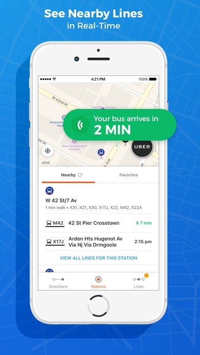 download Public Transit App: Moovit apps 0