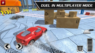 Car Drift Duels: Roof Racing Screenshot 1