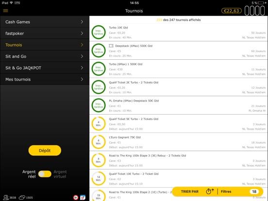 bwin: Poker en Ligne iPad