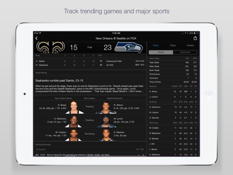 Yahoo Sports: Scores & News screenshot 3