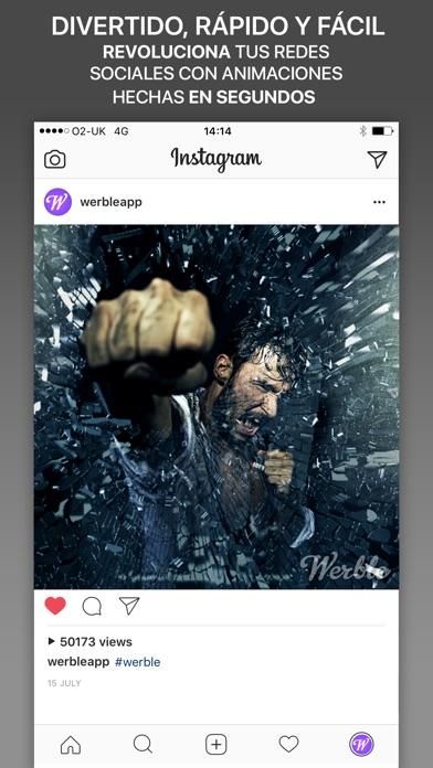 download Werble: el animador de fotos apps 2