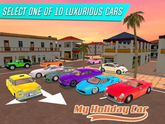 Игра My Holiday Car: Sunrise City