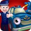 警察 車 洗っ & デザイン