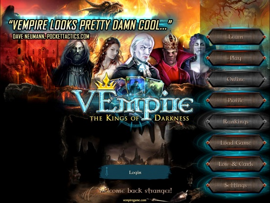Screenshot 1 VEmpire-The Kings of Darkness
