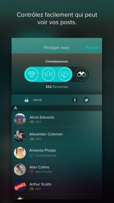Vero - True SocialCapture d'écran de 3