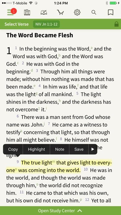 download Bible by Olive Tree apps 2