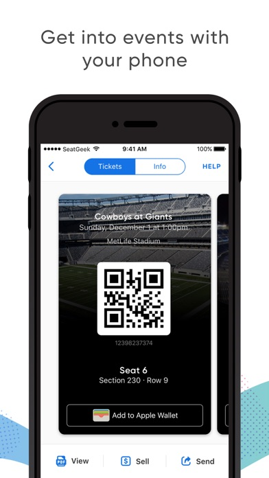 download SeatGeek - Buy Event Tickets apps 2