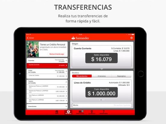 Santander chile en app store for Localizador oficinas santander
