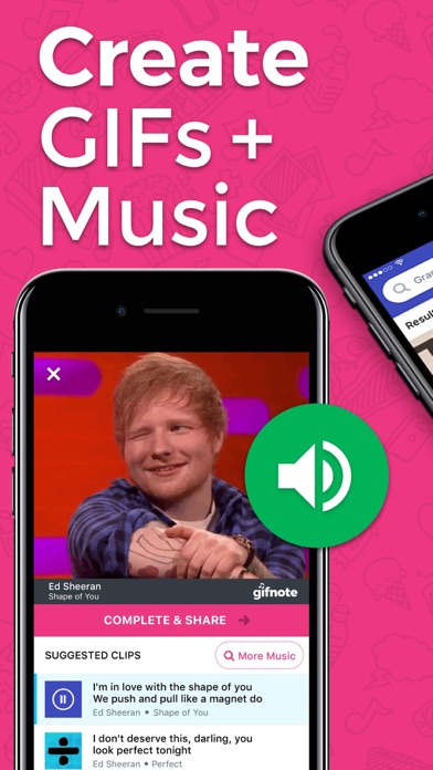 Gifnote: Find GIFs & Add Music app review