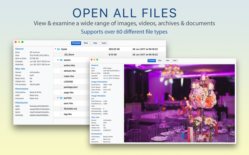 Open All Files: File Viewer for Mac