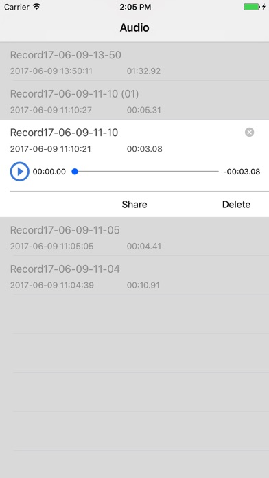 EZAudioCut-Make Audio Cut Easy Screenshots