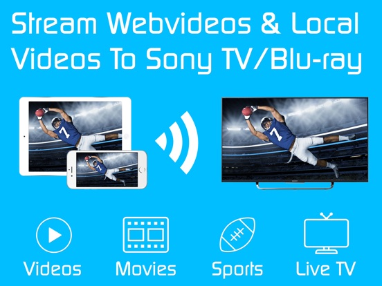 app for sony tv on iphone