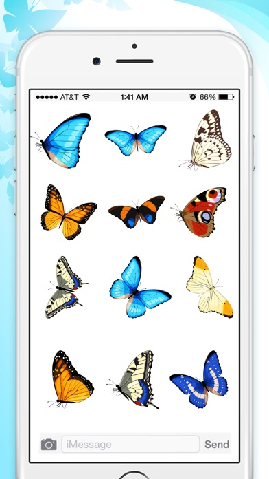 Butterfly Animated Stickers screenshot 3