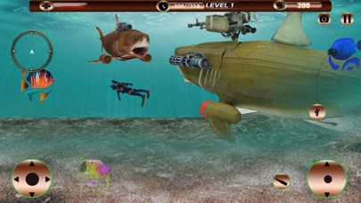 Angry Robot Shark Simulator screenshot 3