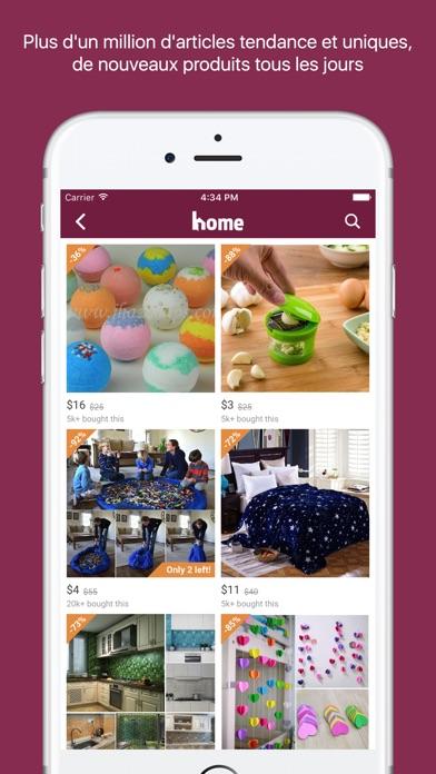Home Shopping décor et designCapture d'écran de 2