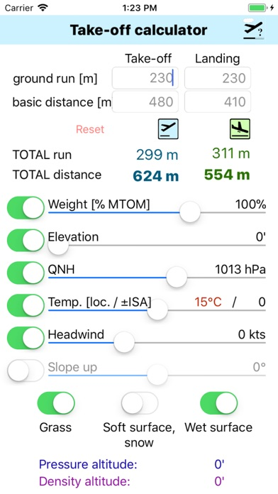Screenshot for Take-Off Distance in Estonia App Store