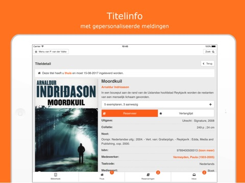 Bibliotheek Wise screenshot 4