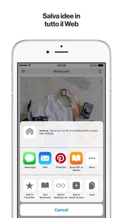 Screenshot of Pinterest5