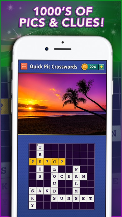 iPhone Screenshot 2  sc 1 st  iTunes - Apple & Quick Pic Crosswords on the App Store 25forcollege.com