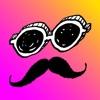 MASK-顔かくし&部分かくしスタンプアプリ