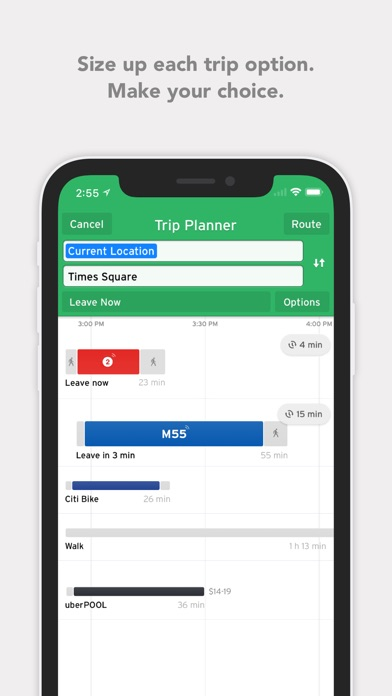 download Transit • Bus & Subway Times apps 1