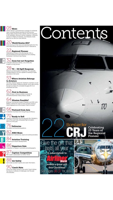 Airliner World review screenshots