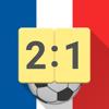 Live Scores for Ligue 1, 2 France 2017/2018 App