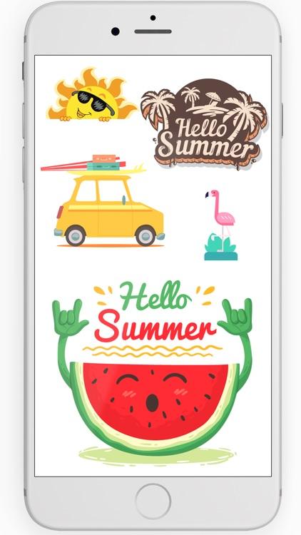 Summer Love Stickers 2017